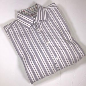 Robert Graham men's casual button down shirt Sz. M